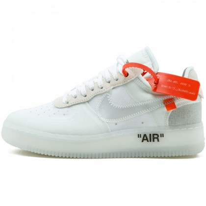 nike the ten off white air force 1
